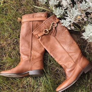 Authentic Coach Riding Boots